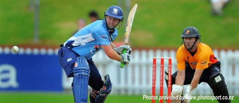 Auckland Aces v Firebirds - HRV Cup Twenty 20