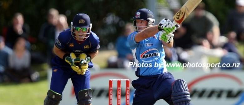 Auckland Aces v Volts - HRV Cup Twenty 20