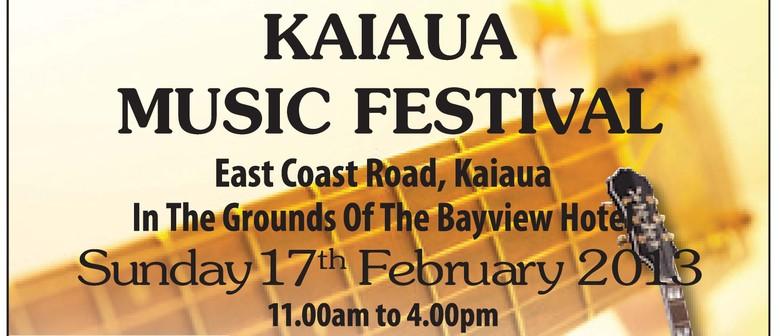 Kaiaua Music Festival