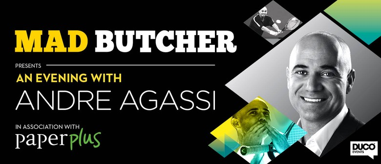 The Mad Butcher presents An Evening with Andre Agassi