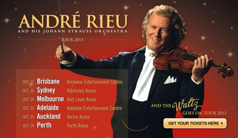 André Rieu: The Waltz Goes On - Auckland - Eventfinda
