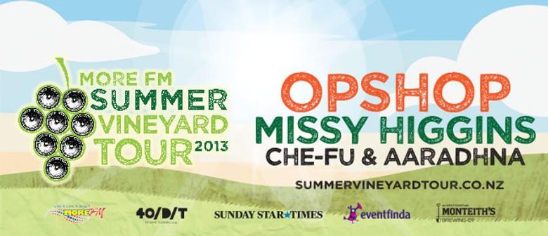 More FM Summer Vineyard Tour 2013