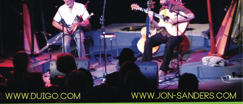 Jon Sanders and Eoin Duignan Tour 2013 with Rachel Dawick