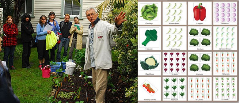 Square Foot Gardening with Ken Clark from Waiheke