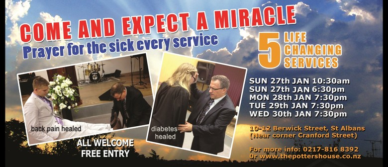 Miracle Healing Meetings