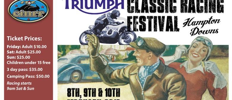 Triumph Classic Racing Festival