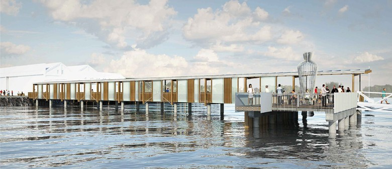 Hobsonville Point and Beach Haven Ferry Wharf Opening