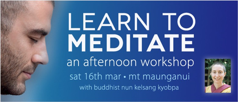 Learn to Meditate: An afternoon Meditation Course