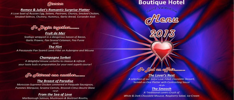 Valentine's Day At The Narrows Landing Boutique Hotel