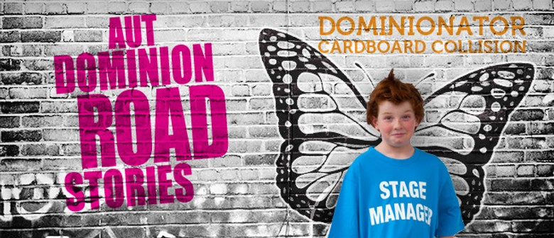 Dominionator Cardboard Collision - AUT Dominion Road Stories