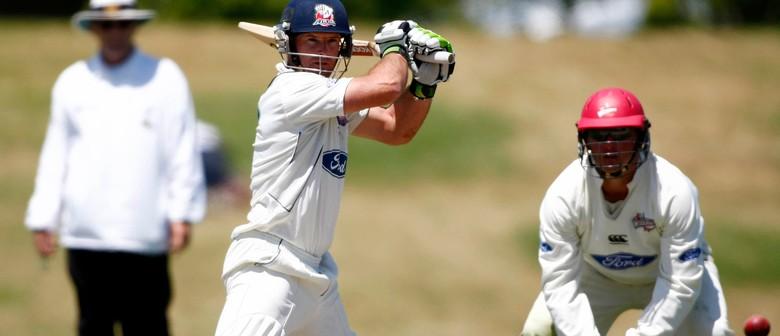 Canterbury Wizards v Auckland Aces - Plunket Shield Cricket