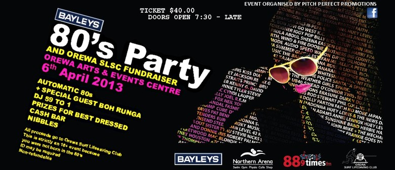 Bayleys 80s Party