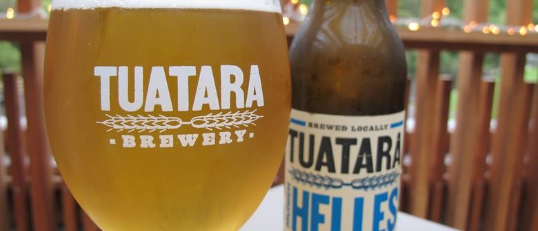 Tuatara Beer and Food Match Evening