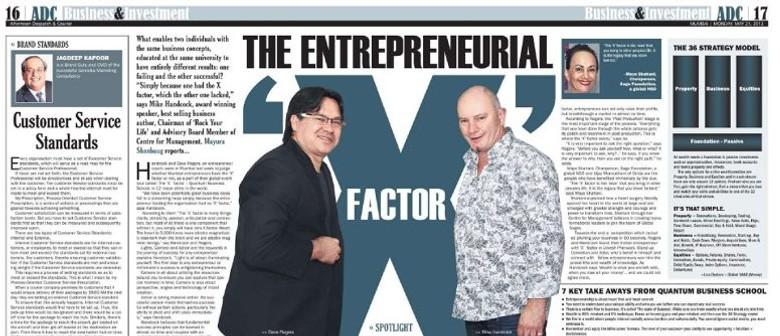 Entrepreneur X Factor