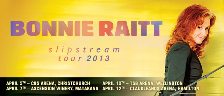 Bonnie Raitt - Slipstream Tour 2013