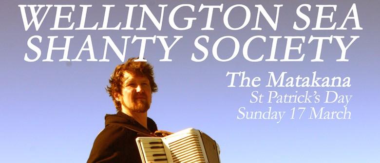 Wellington Sea Shanty Society for St Pat's Day
