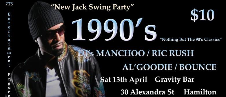 1990s DJs Manchoo / Ric Rush / Al'Goodie / Bounce