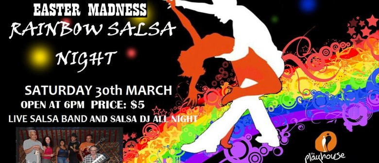 Easter Madness Rainbow Salsa Night with Live Latin Band