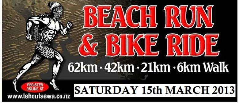 Te Houtaewa Beach Race Challenge - Runs and Walks