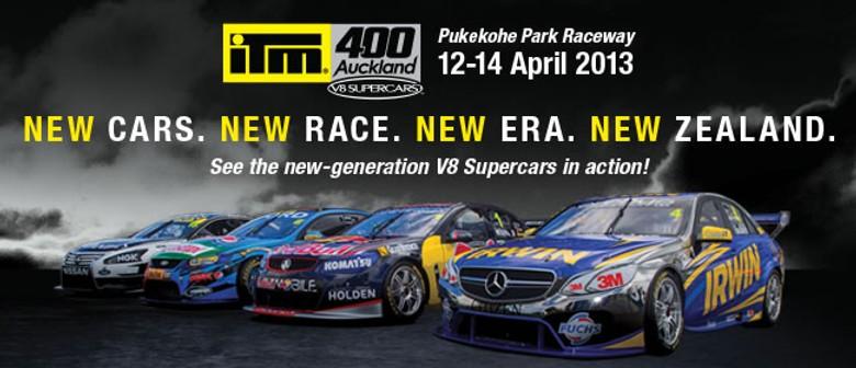V8 Supercars - ITM 400 Auckland