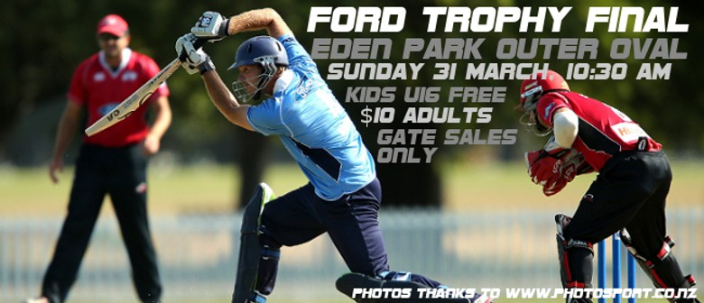 Auckland Aces vs. Canterbury Wizards Ford Trophy