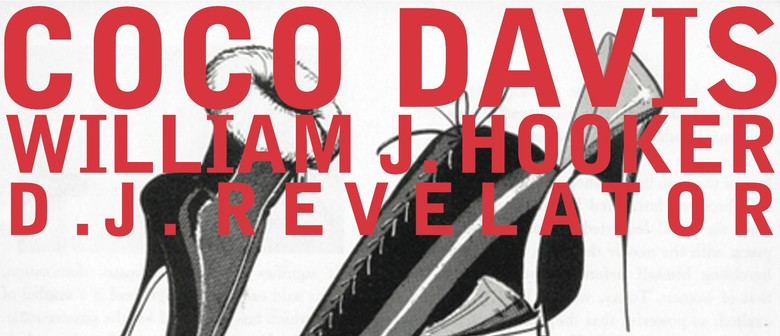 Coco Davis & William J. Hooker with D.J. Revelator