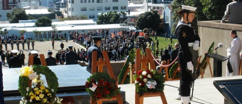 National Commemorative Service: Wreath-laying Ceremony