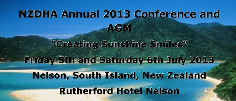 NZDHA Annual 2013 Conference and AGM