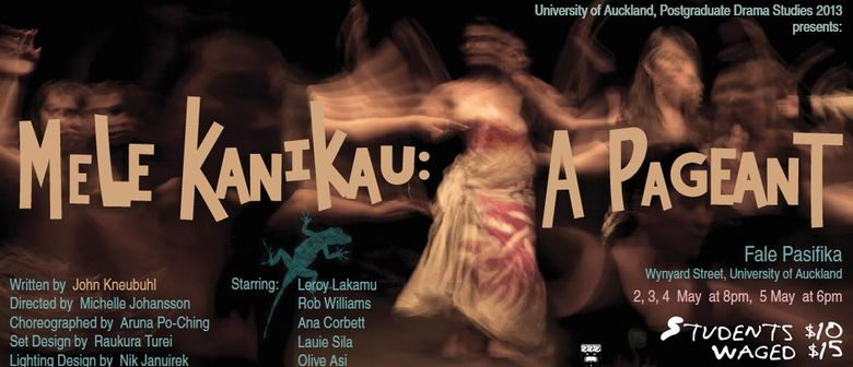 Mele Kanikau - A Pageant by John Kneubuhl