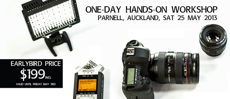 Hands-On HDSLR Filmmaking Workshop