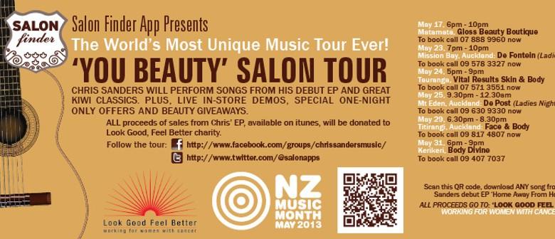 You Beauty Salon Tour