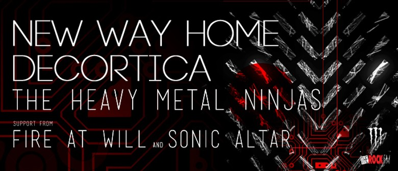 New Way Home and Decortica w/ Heavy Metal Ninjas
