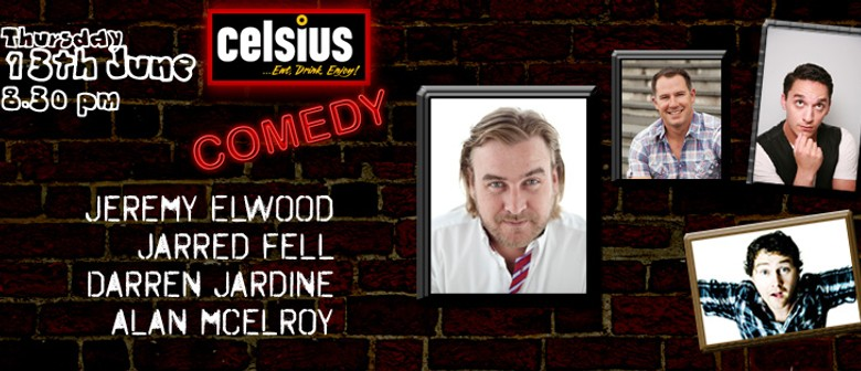 Live Comedy feat. Jeremy Elwood