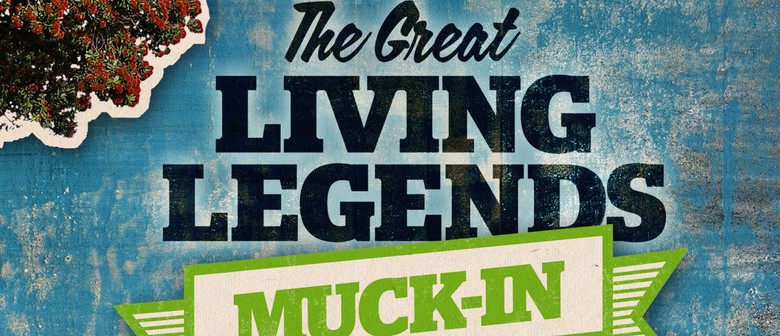 The Great Living Legends Muck In