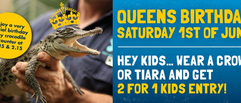 Queens Birthday - 2 for 1 Kids Entry At Butterfly Creek