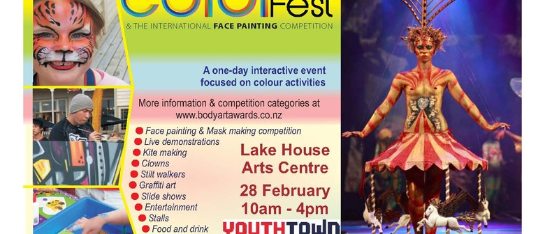 ColorFest & NZ International Face Painting Competition