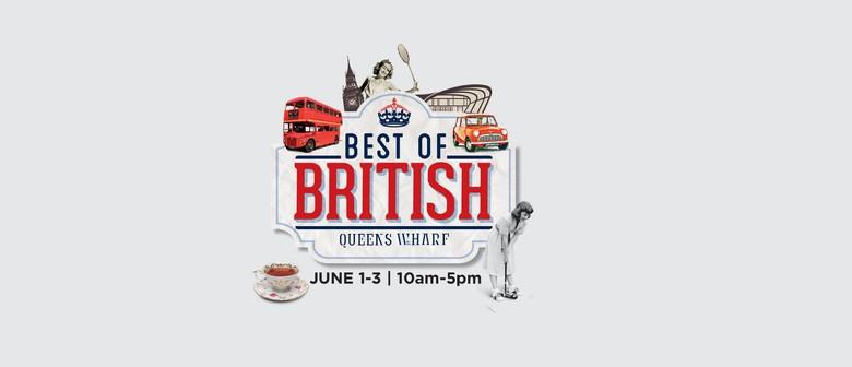 'The Best of British' - Queen's Birthday Weekend