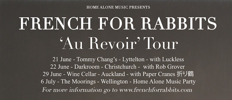 French for Rabbits 'Au Revoir!' Tour with Paper Cranes
