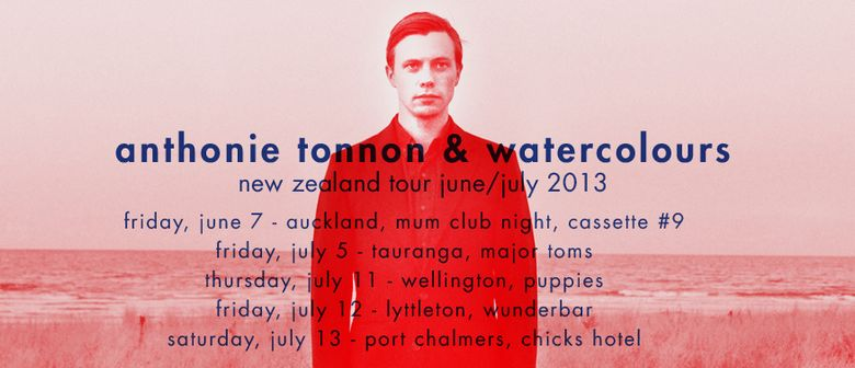 Anthonie Tonnon and Watercolours New Zealand Tour