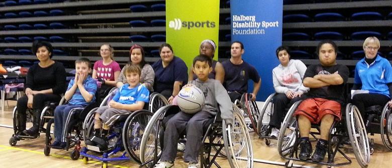 Waitakere Wheelchair Basketball Programme
