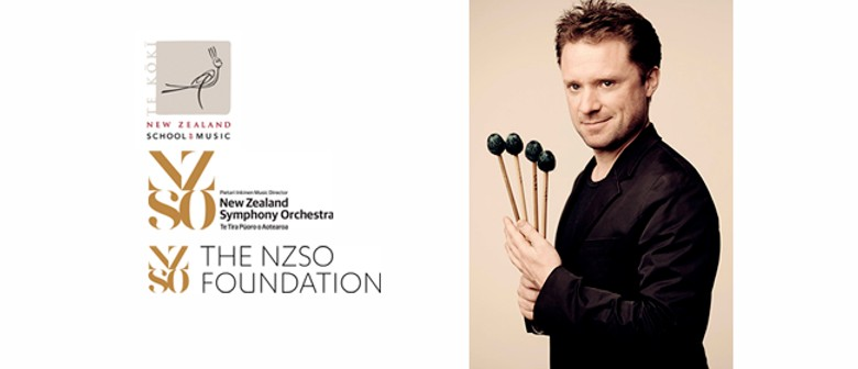 NZSM-NZSO - Colin Currie Percussion Masterclass