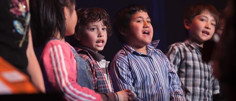 Wellington Children's Community Choir Performance