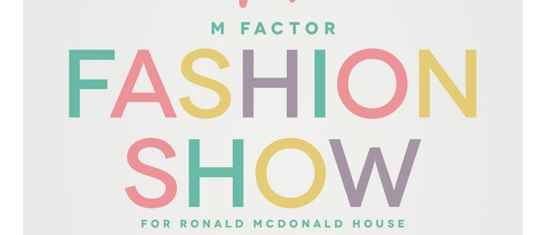 M Factor Fashion Show for Ronald McDonald House