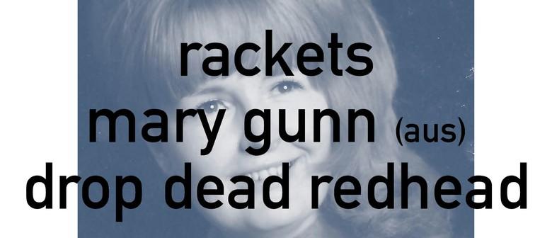 Mum Presents - Rackets, Mary Gunn, Drop Dead Redhead