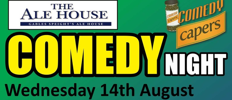 The Alehouse Comedy Night - Brendhan Lovegrove