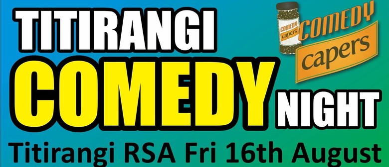 Titirangi Comedy Night - Brendhan Lovegrove