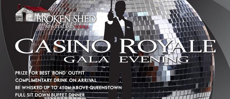 Broken Shed 'Casino Royale' Gala Evening