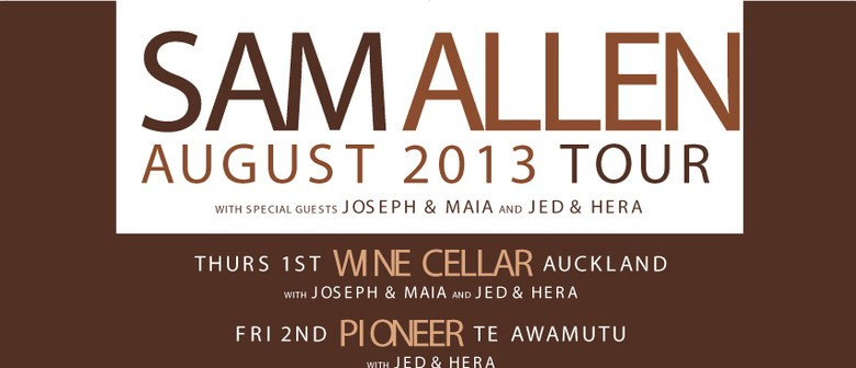 Sam Allen Acoustic Tour with Joseph & Maia and Jed Parsons
