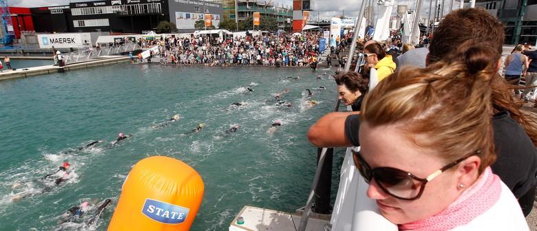State New Zealand Ocean Swim Series - Harbour Crossing