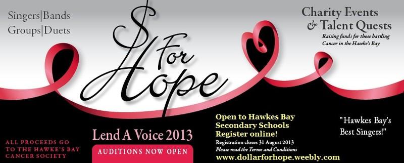 Lend a Voice Talent Concert - Napier - Eventfinda